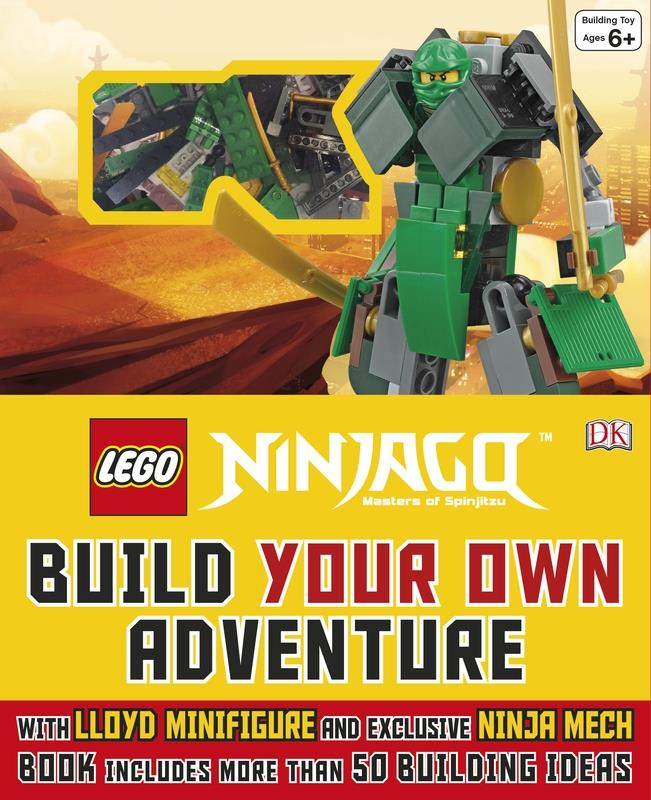 LEGO(r) NINJAGO(r) Build Your Own Adventure