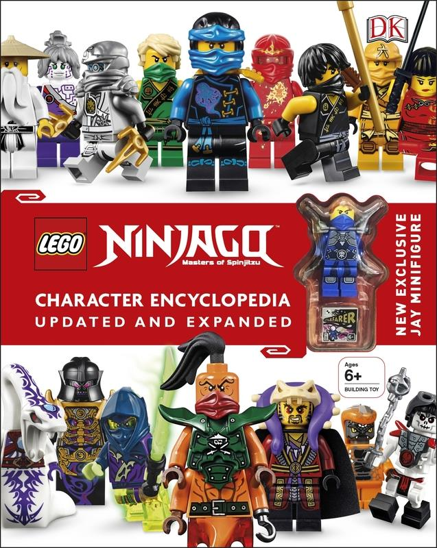 LEGO(r) Ninjago Character Encyclopedia Updated and Expanded