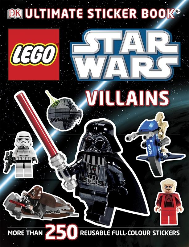 LEGO(r) Star Wars Villains Ultimate Sticker Book