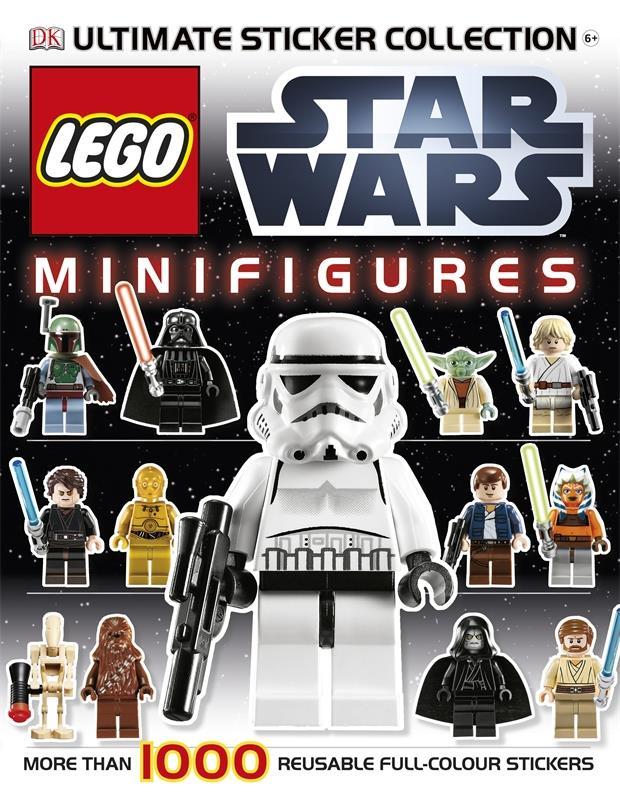 LEGO(r) Star Wars Minifigures Ultimate Sticker Collection